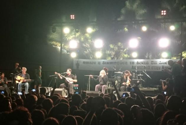 Περισσότεροι από 30.000 κόσμου στη συναυλία για την Ηριάννα
