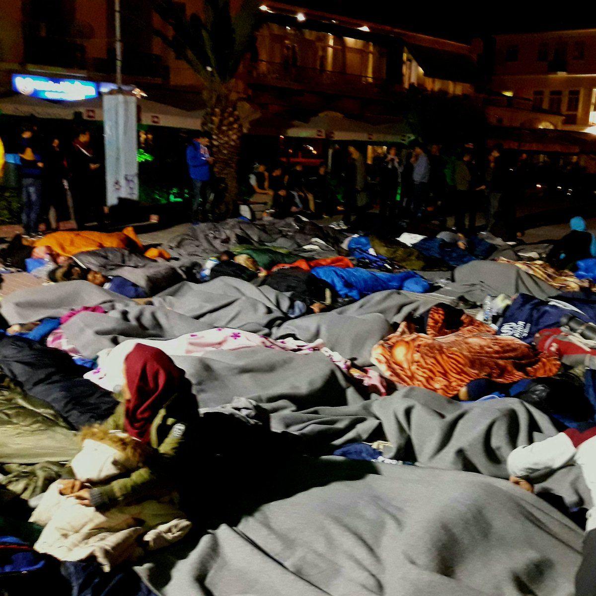 Απεργία πείνας ξεκίνησαν αιτούντες άσυλο στη Μυτιλήνη- Ζητούν να φύγουν από το νησί