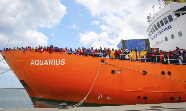 Επίθεση ακροδεξιών στα γραφεία του πλοίου Aquarius στη Μασσαλία