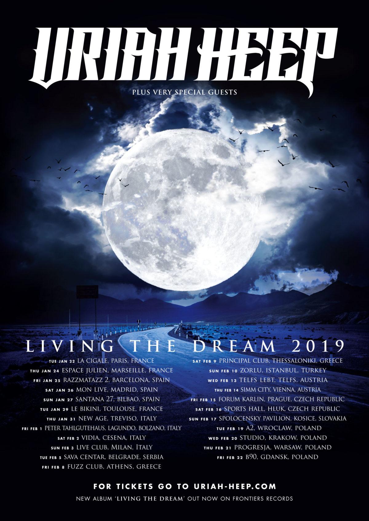 Επιστρέφουν για δύο συναυλίες οι Uriah Heep