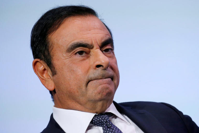 Συνελήφθη ο πρόεδρος της Nissan για κλοπή χρημάτων της εταιρείας