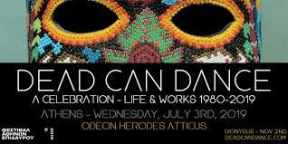 Ξεκινά η προπώληση για τη συναυλία των Dead Can Dance στο Ηρώδειο